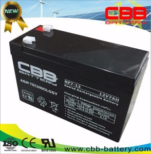 12V7ah Lead Acid Battery for Security System Backup Power pictures & photos