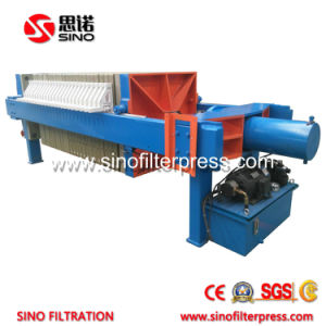 Industrial Hydraulic Automatic Membrane Filter Press for Sludge Dewatering pictures & photos