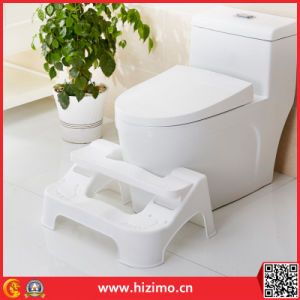 2017 Hot Sales Adjustable Plastic Toilet Step Stool pictures & photos