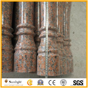 Natural Maple Red G562 Stone Marble Granite Baluster for Handrail pictures & photos