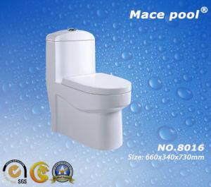 Good Quality One-Piece Closet Ceramic Toilet (8031) pictures & photos