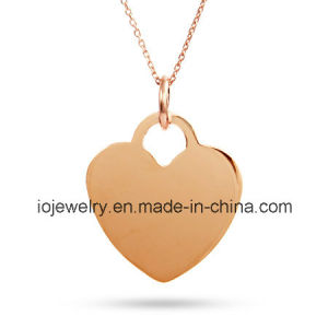 18k Gold Plated Pendant Necklace pictures & photos