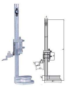 Adjustable Type Precision Vernier Height Gaugess with Magnifying Glass pictures & photos
