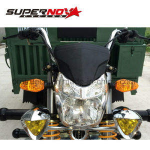 High Power 250cc Cargo Tricycle with Double Rear Tires pictures & photos