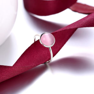 Fashion Simple Design 925 Sterling Silver Ring Artificial Jewelry pictures & photos