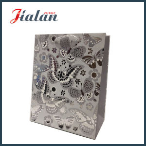 Customize with Hot Stamping Butterfly Shopping Carrier Gift Paper Bags pictures & photos