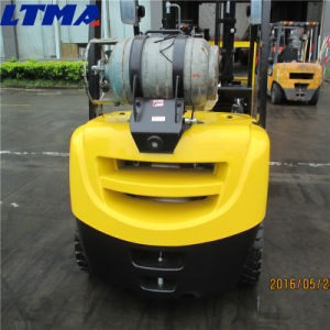 Mini Hydraulic Forklift 2.5 Ton LPG Dual-Fuel Forklift for Sale pictures & photos
