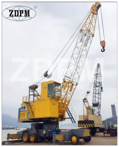 Electric Hydraulic Mobile Portal Crane with Hook pictures & photos