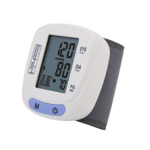 Wrist Digital Blood Pressure Monitor with LCD Display pictures & photos