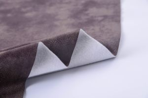 2016 Synthetic Leather Upholstery Fabric with Complex pictures & photos