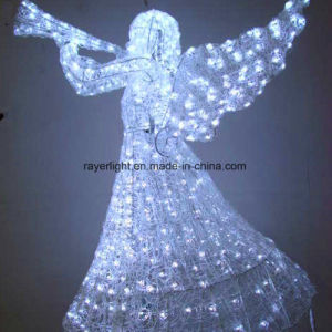 2017 Outdoor Christmas Decorations LED Angel Lighting Decoration pictures & photos