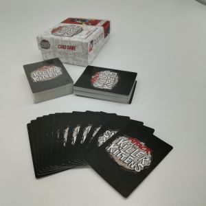 120 Cards Desktop Game Custom Design Art Paper for 2-8 People to Play Yh339 pictures & photos