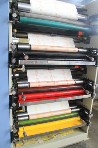 4 Color Flexo Printing Machine for Paper Cup pictures & photos