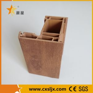 PVC Wood-Grained Window Profile Making Machine / Extrusion Machine / Production Line pictures & photos