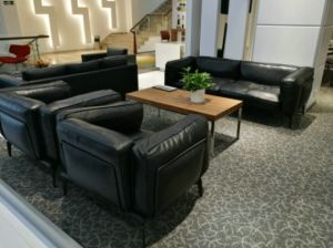 Living Room Furniture Laminate Wooden Square Coffee Table