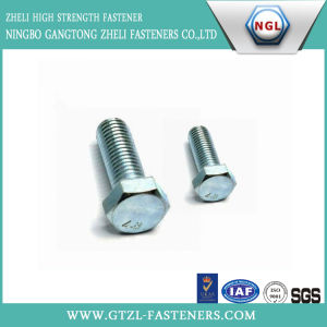Grade 4.8 Zinc Plated Hex Bolt pictures & photos