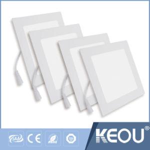 Panel Redondo En LED De Cuadrado 6W 12W 18W 24W pictures & photos