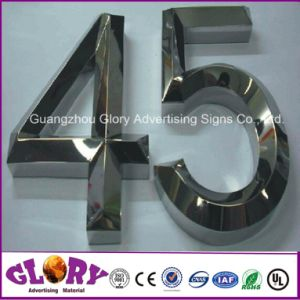 Outdoor Advertising Backlit Metal Letter Sign pictures & photos