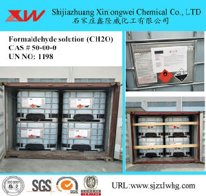 Factory for Formaldehyde Solution 37% 40% pictures & photos