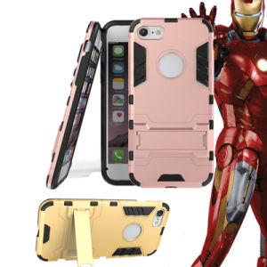 TPU +PC Armor Holster Kickstand Combo Phone Case for iPhone 7/7plus pictures & photos