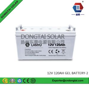 12V Power Supply 120ah Solar Use Gel Battery High Quality pictures & photos