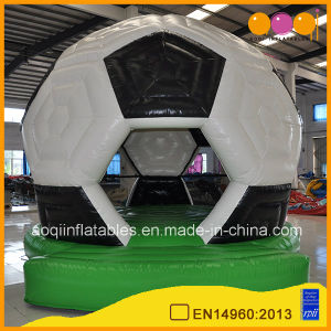 Kid Game Football Theme Inflatable Bounce House for Supermarket (AQ253-1) pictures & photos