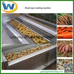 Vegetable Potato Carrot Onion Fish Scale Washing Peeling Machine pictures & photos