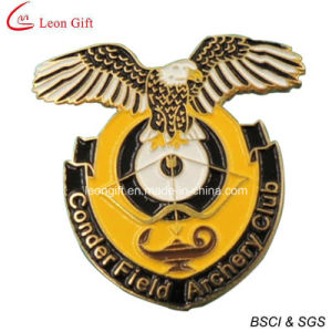Custom Printed Brass Badges for Promotion Gift (LM1720) pictures & photos