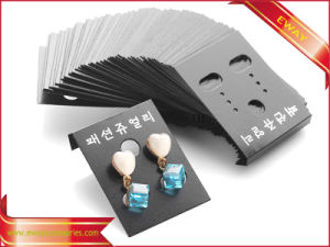 Plastic Jewellery Display Cards Garment Hang Cards pictures & photos