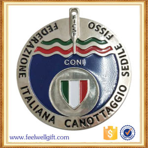 Soft Enamel Superior Quality Promotion Event Metal Silver Medals pictures & photos