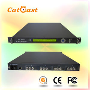4in1 H. 264 Encoder with Asi Input and IP Output pictures & photos