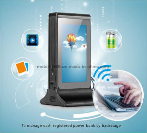 WiFi Restaurant Menu Power Bank Innovation Table Digital Advertising Media Player 20800mAh Backup Battery Charger for Restaurant Cafe pictures & photos