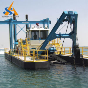 Portable Cutter Suction Dredger with Water Flow 1500m3/H pictures & photos