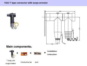 15kv T Type Connector with Surge Arrestor pictures & photos