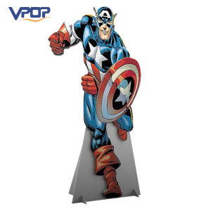 OEM Corrugated Movie Character Display Standee in Theater pictures & photos