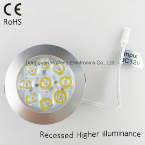 12V Recessed LED Cabinet Light pictures & photos