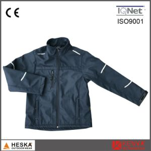 New Polyester Softshell Mens Spring Jacket pictures & photos