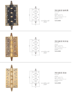 2016 New Style Luxury Brass Hinge (7013) pictures & photos