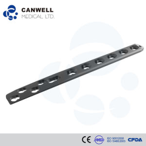 Canwell 3.5/4.5 Metaphysis Locking Plate Canllp Orthopaedic Implant Large Fragment Locking Plate Titnaium Implant pictures & photos