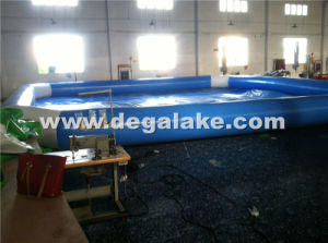 Customized Inflatable Funny Bear Water Slide with Large Pool pictures & photos