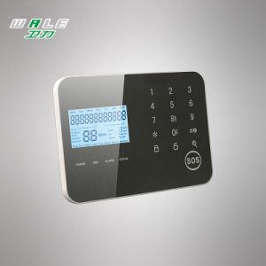 Elegent Touch Keypad Wireless GSM Alarm System by APP Panel pictures & photos