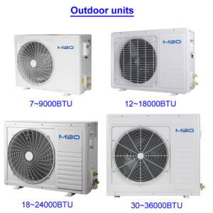 Indian 3 Star and 5 Star Wall Split Type Air Conditioners pictures & photos