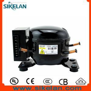 Good Quality R600A DC Compressor 12V/24V Refrigerator Compressor Freezer/Fridge Compressor Solar/Battery Compressor Qdzy43G pictures & photos