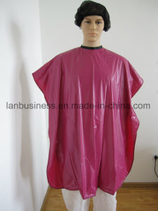 PVC Hair Cutting Bib Cape Custom Printing pictures & photos