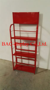 Lubricating Oil Metal Display Stand for Engine Oil Display Rack pictures & photos