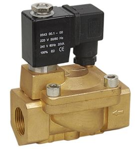 PU 225 Cheap Water Valve 2 Position 2 Way Steam Type Solenoid Valve pictures & photos