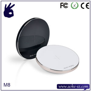 Aluminum Alloy High-End  Wireless Mobile Phone Fast  Charger pictures & photos