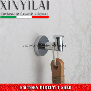 Round Brass Coat Hook Chrome for Bathroom Hanger pictures & photos