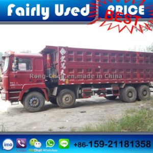 Second Hand Shacman Tipper Truck 8*4 of Shacman F3000 Dump Truck