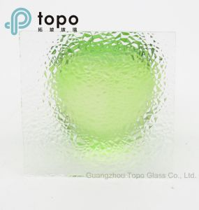 3mm-8mm Ultra Clear Pattern Figured Glass for Bathroom Doors (UCP-TP) pictures & photos